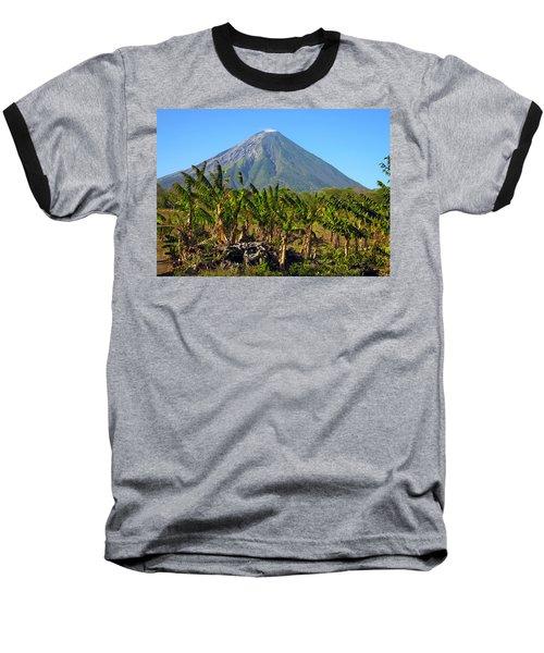 Volcan Concepcion Nicaragua Baseball T-Shirt
