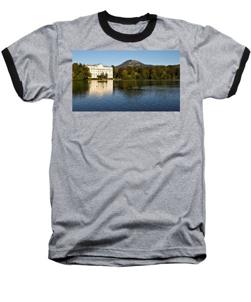 Baseball T-Shirt featuring the photograph Von Trapp's Mansion by Silvia Bruno