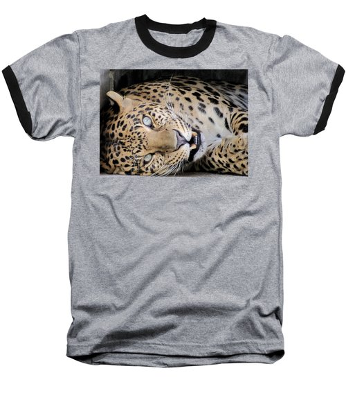 Voodoo The Leopard Baseball T-Shirt