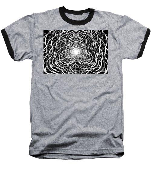 Baseball T-Shirt featuring the drawing Vortex Equilibrium by Derek Gedney