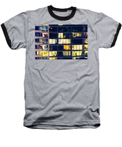 Baseball T-Shirt featuring the photograph Voyeuristic Pleasure Cdlxxxviii by Amyn Nasser
