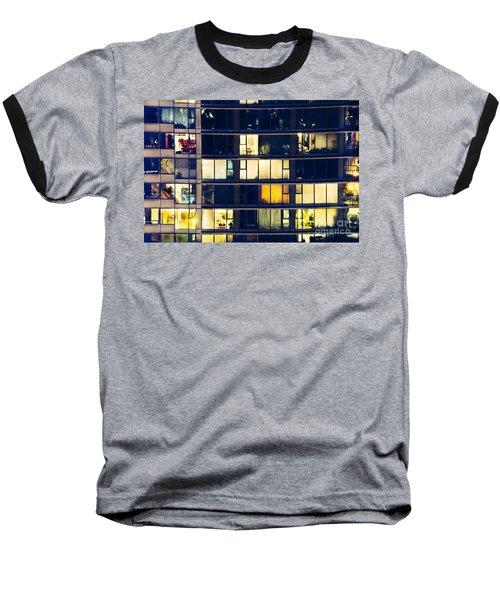 Baseball T-Shirt featuring the photograph Voyeuristic Pleasure Cdlxxxviii by Amyn Nasser