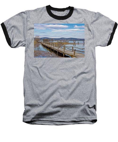 Vransko Lake Nature Park Bird Observatory Baseball T-Shirt
