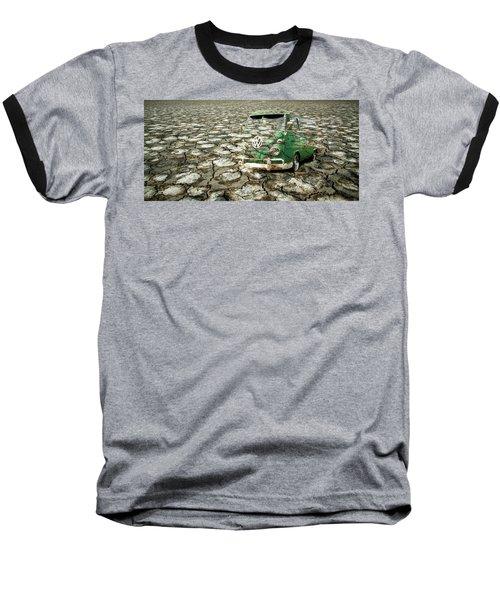Vw Micro Mirage Baseball T-Shirt by Steve McKinzie