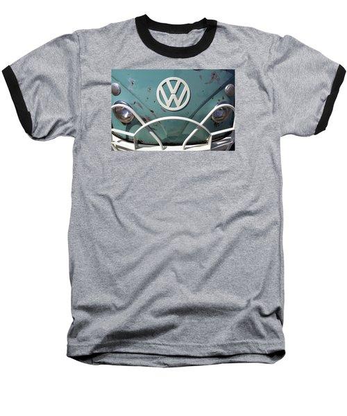 Vw Oldie But Goodie Baseball T-Shirt by Jane Eleanor Nicholas