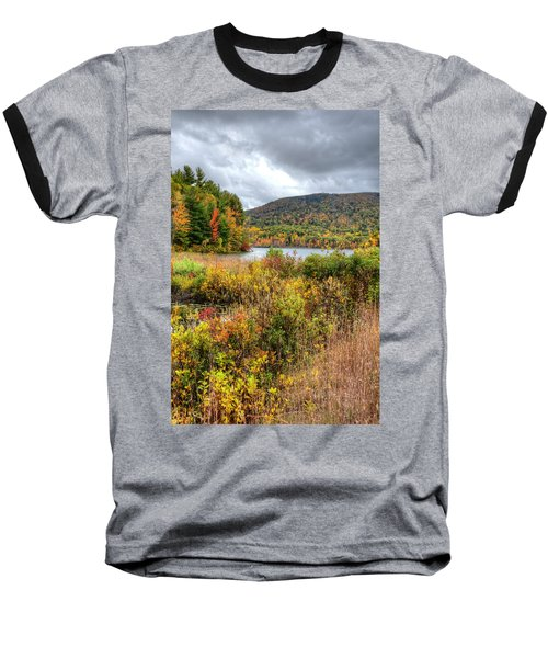 Wachusett Mt. In Autumn Baseball T-Shirt