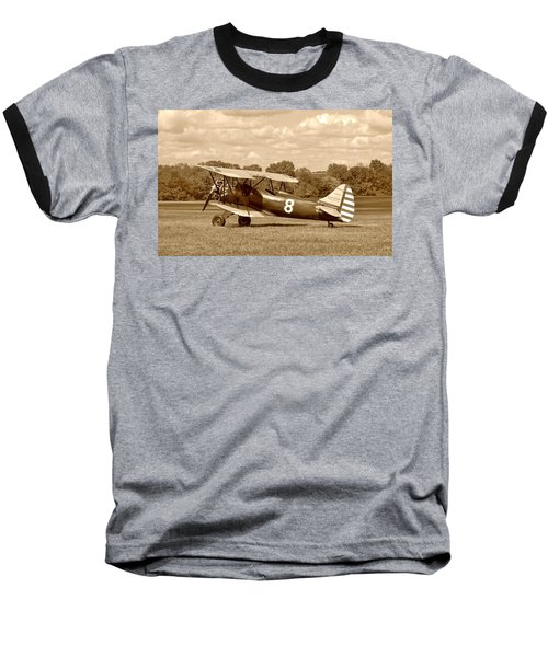 Waco Upf-7 Baseball T-Shirt by Jean Goodwin Brooks