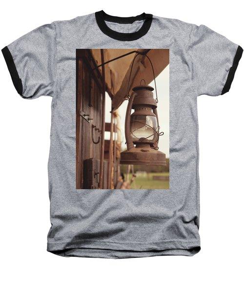 Wagon Lantern Baseball T-Shirt