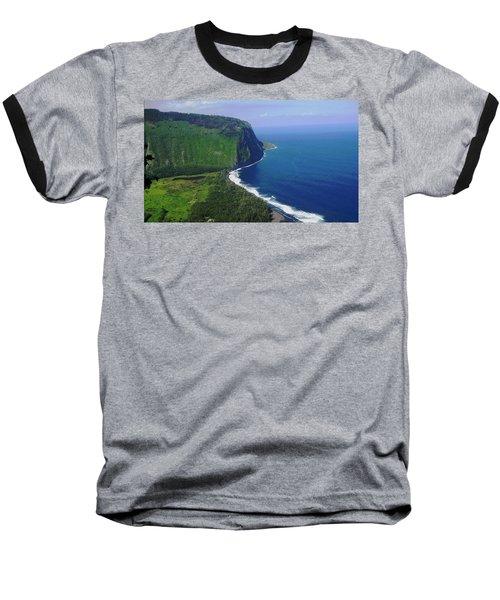 Waipio Valley Baseball T-Shirt by Pamela Walton