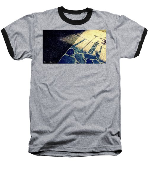 Baseball T-Shirt featuring the photograph Wait In The Shade by Stwayne Keubrick