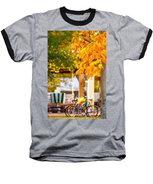 Waiting For A Ride Baseball T-Shirt