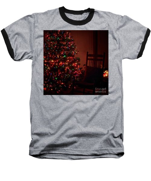 Waiting For Christmas - Square Baseball T-Shirt