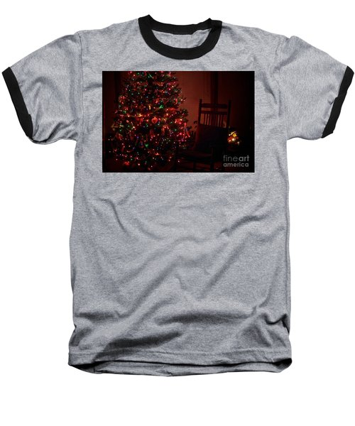 Waiting For Christmas Baseball T-Shirt