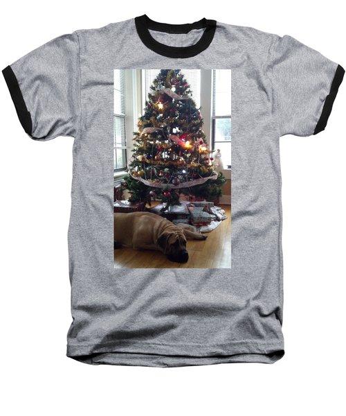 Waiting For Santa Baseball T-Shirt