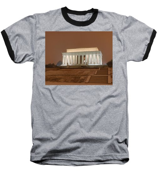 Waiting For The Snow Baseball T-Shirt