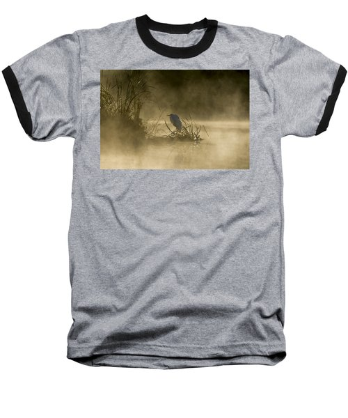 Baseball T-Shirt featuring the photograph Waiting For The Sun by Steven Sparks