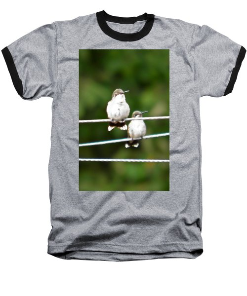 Baseball T-Shirt featuring the photograph Waiting Our Turn by Nick Kirby