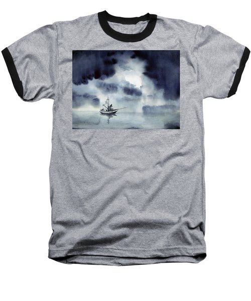 Waiting Out The Squall Baseball T-Shirt