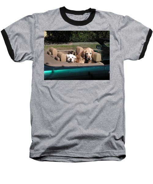 Waiting Patiently Baseball T-Shirt