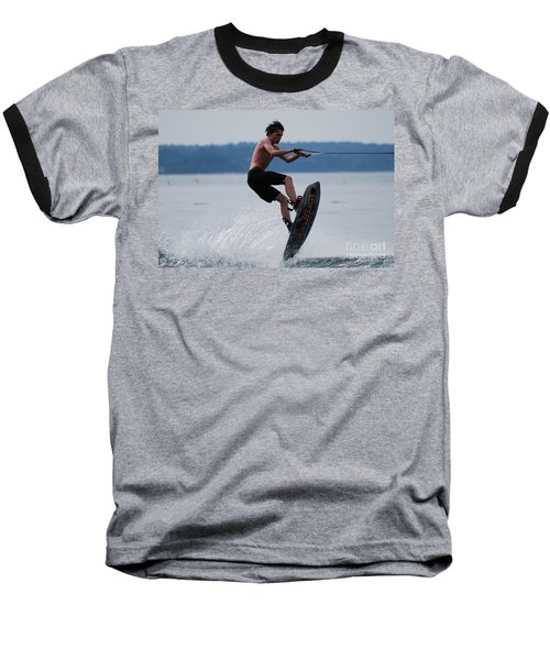Wakeboarder Baseball T-Shirt