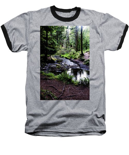 Walk By The Water Baseball T-Shirt