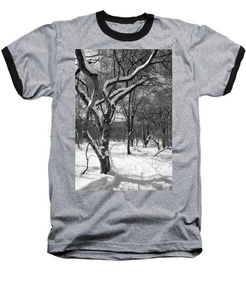Walk In The Snow Baseball T-Shirt