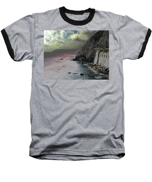 Baseball T-Shirt featuring the photograph Walk Of Love Riomaggiore by Natalie Ortiz