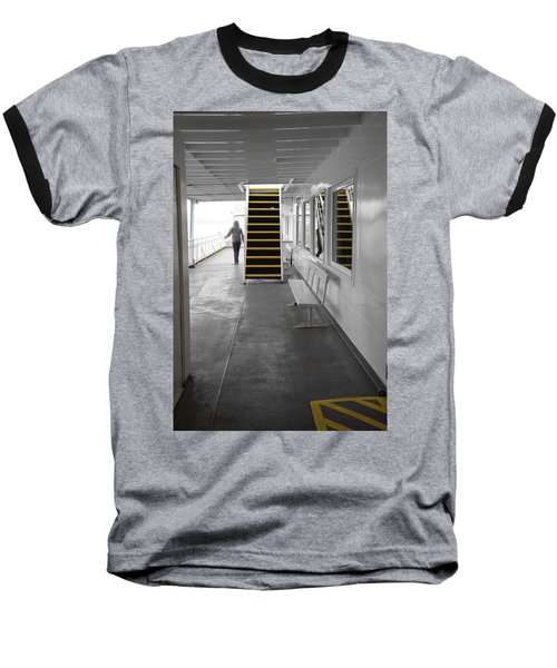 Baseball T-Shirt featuring the photograph Walk This Way by Marilyn Wilson