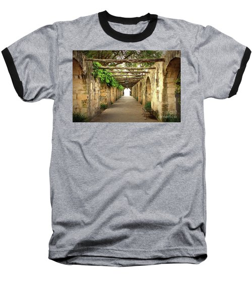 Walk To The Light Baseball T-Shirt