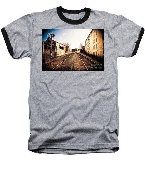 Walkers Point Railway Baseball T-Shirt