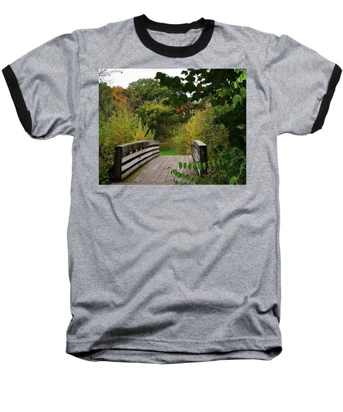 Walking Bridge Baseball T-Shirt