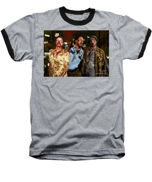 Walking Dead Baseball T-Shirt