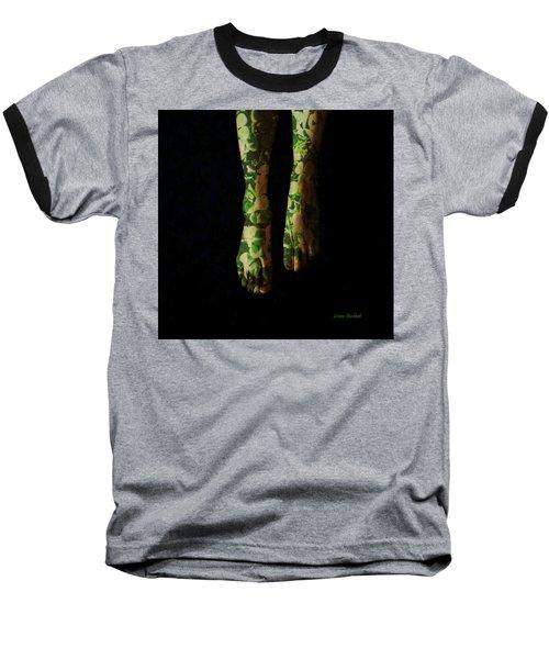 Walking In Clover Baseball T-Shirt by Donna Blackhall