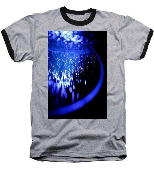 Baseball T-Shirt featuring the photograph Walking On The Moon by Dazzle Zazz