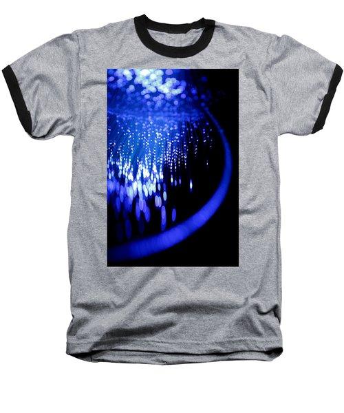 Walking On The Moon Baseball T-Shirt by Dazzle Zazz