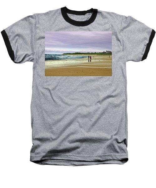 Walking The Dog After A Storm Baseball T-Shirt