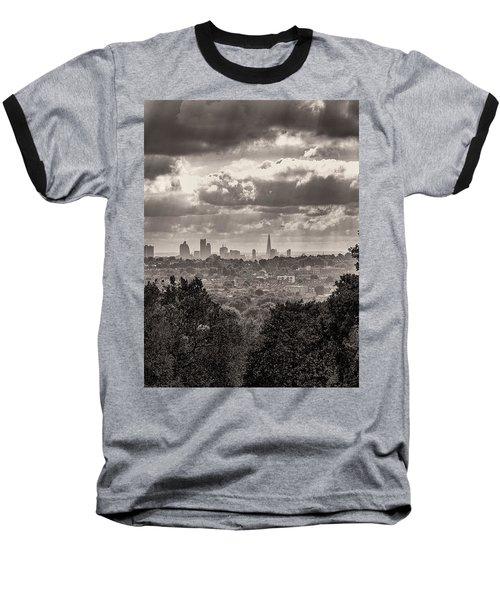 Walking The Sights Baseball T-Shirt by Lenny Carter