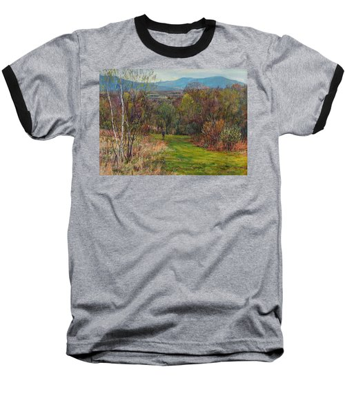 Walking Through The Woods In Spring Baseball T-Shirt