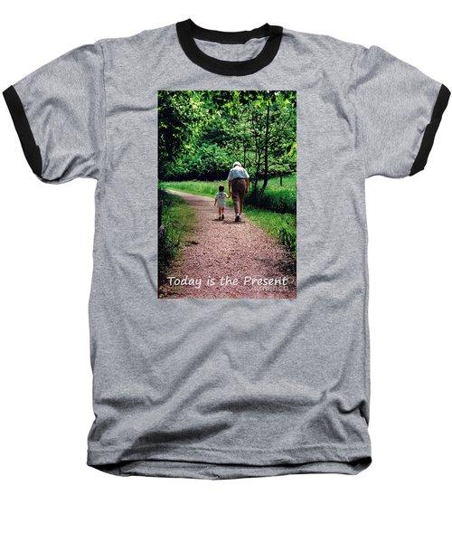 Walking With Grandma Baseball T-Shirt