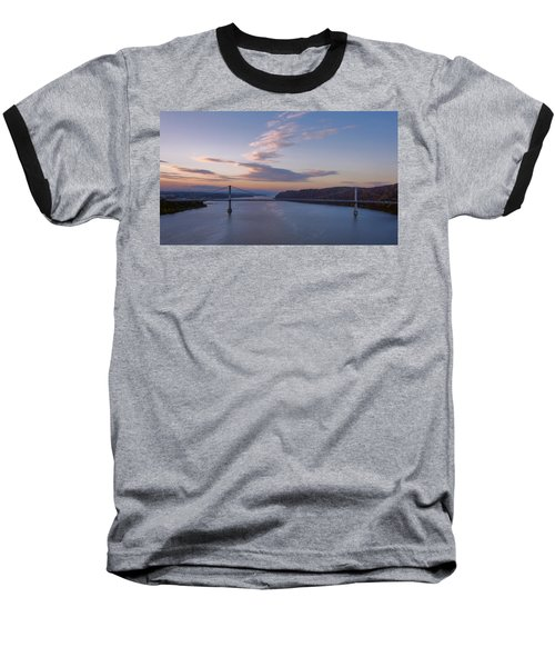 Walkway Over The Hudson Dawn Baseball T-Shirt