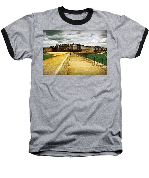 Baseball T-Shirt featuring the photograph Walkway To Intra Muros by Elf Evans