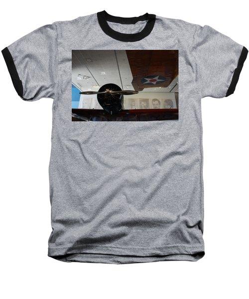 Wall Of Great Aviators Baseball T-Shirt