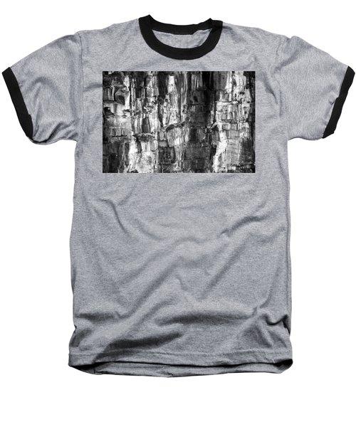 Baseball T-Shirt featuring the photograph Wall Of Rock by Miroslava Jurcik