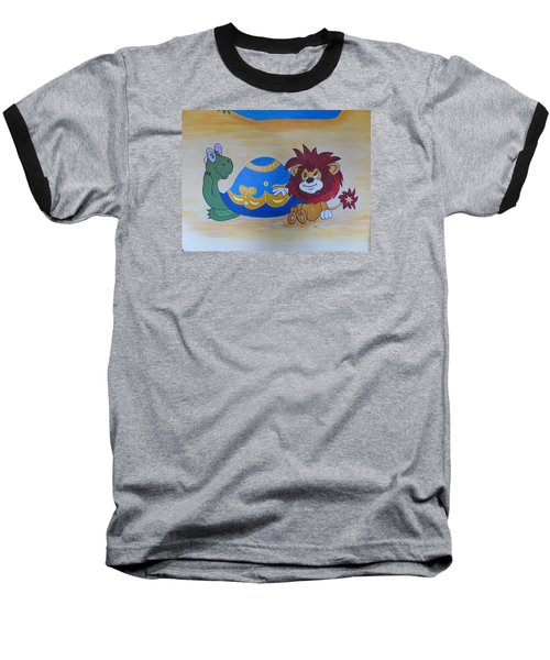 Wall Painting Baseball T-Shirt
