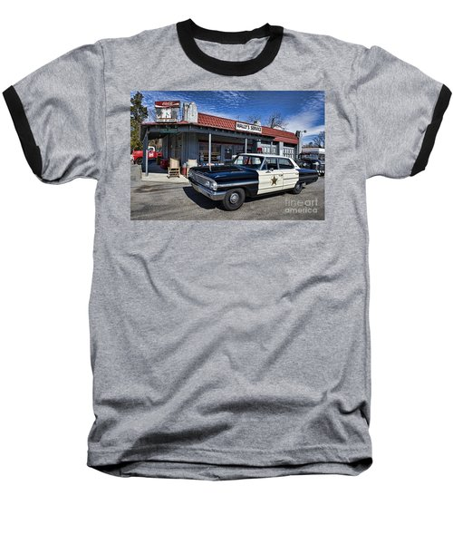 Wallys Service Station Baseball T-Shirt