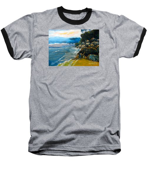 Walomwolla Beach Baseball T-Shirt