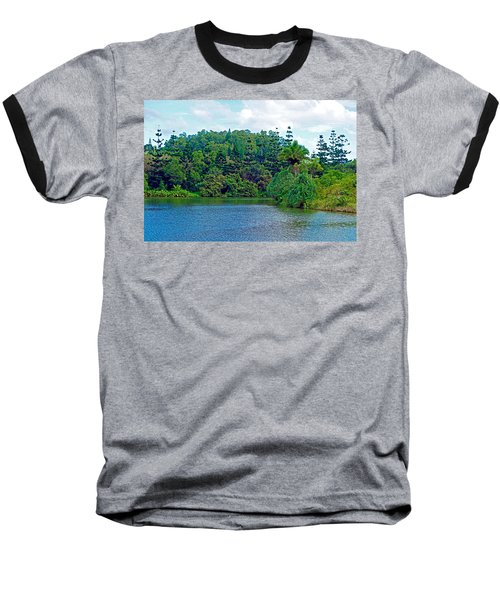 Waoleke Pond Forest Baseball T-Shirt