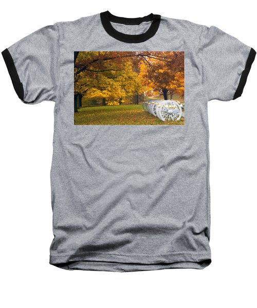 War And Peace Baseball T-Shirt by Paul W Faust -  Impressions of Light