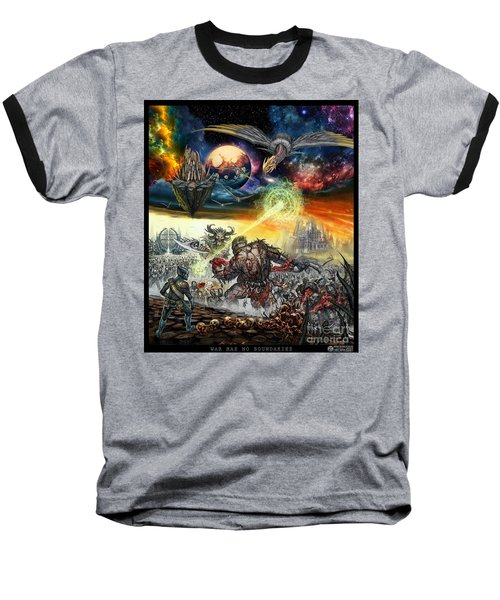 War Has No Boundaries  Baseball T-Shirt