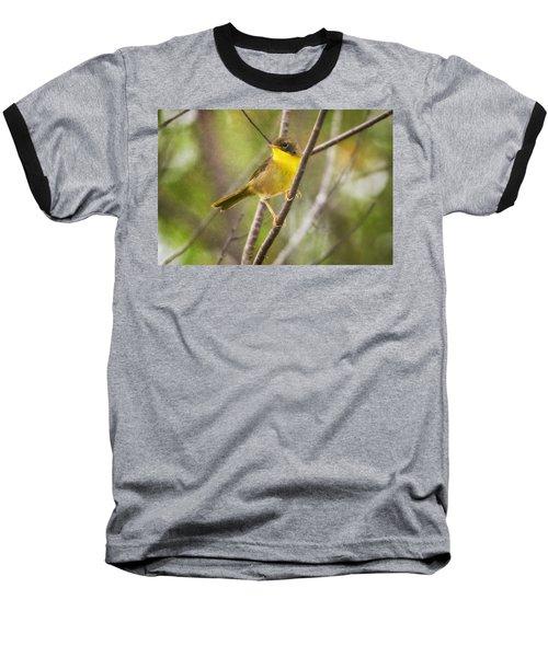 Warbler In Sunlight Baseball T-Shirt